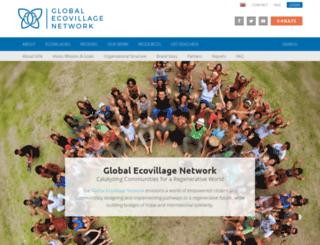gen.ecovillage.org screenshot