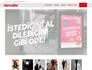 gencallar.com.tr screenshot