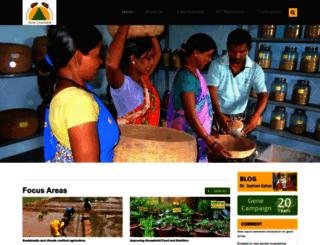 genecampaign.org screenshot