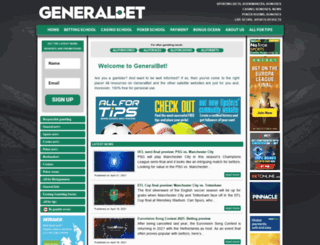 generalbet.com screenshot