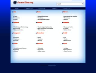 generaldirectory.ws screenshot