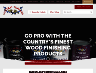 generalfinishes.com screenshot