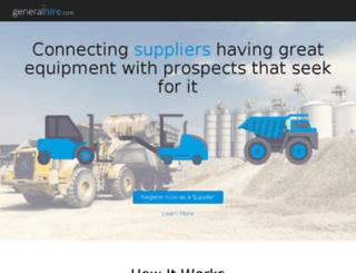 generalhire.com.au screenshot