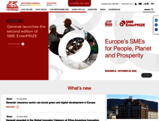 generali.com screenshot