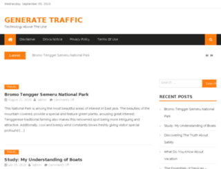 generate-traffic.org screenshot