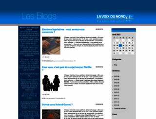 generation-blogueurs.blogs.lavoixdunord.fr screenshot