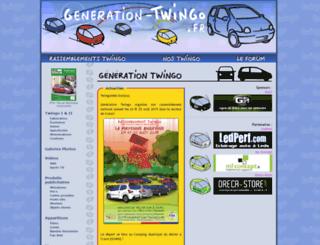 generation-twingo.fr screenshot