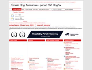 generatorfinansowy.blogspot.com screenshot
