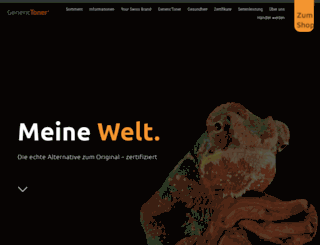 generictoner.ch screenshot
