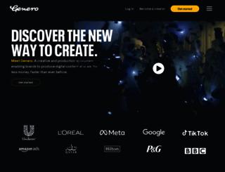 genero.com screenshot