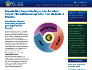 genesis.genesisedu.com screenshot