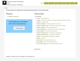 genesis.wp-a2z.org screenshot