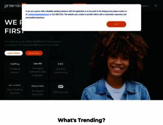 genesis10.com screenshot