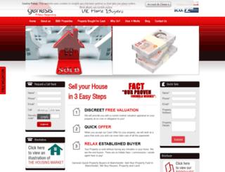 genesis100.co.uk screenshot
