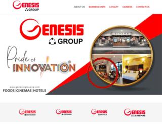 genesisgroupng.com screenshot