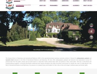 genevadiplomacy.com screenshot
