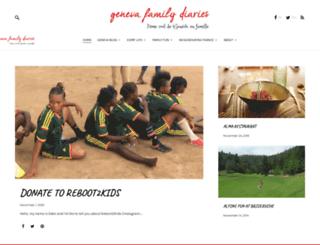 genevafamilydiaries.net screenshot