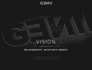 genii-capital.com screenshot
