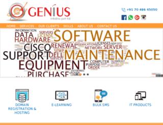 geniusinfolink.com screenshot