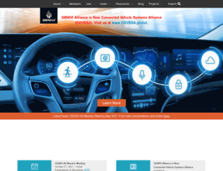 genivi.org screenshot
