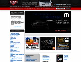 genosgarage.com screenshot