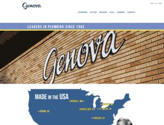 genovaproducts.com screenshot