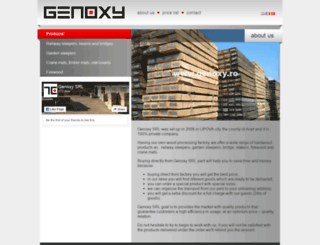 genoxy.ro screenshot