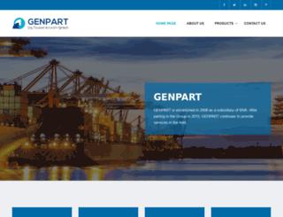 genpart.com.tr screenshot