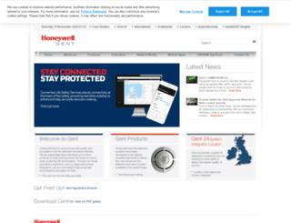 gent.co.uk screenshot