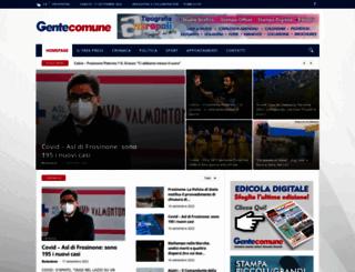 gentecomuneweb.it screenshot