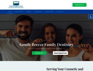 gentlebreezedental.com screenshot