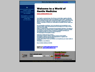 gentlemedicine.com screenshot