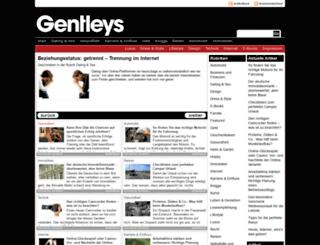 gentleys.com screenshot