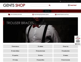 gentsshop.co.uk screenshot