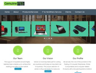 genuineites.com screenshot