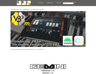 genuinesoundware.com screenshot