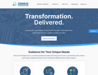 genusllc.com screenshot