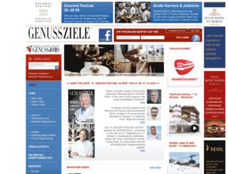 genussziele.com screenshot