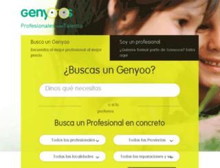 genyoos.com screenshot