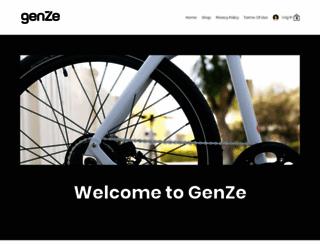 genze.com screenshot