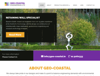 geo-coastal.com screenshot