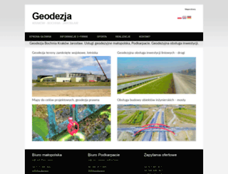 geo.dezja.pl screenshot