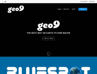 geo9.com.au screenshot