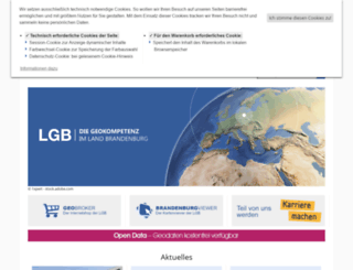 geobasis-bb.de screenshot
