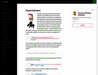 geobytes.com screenshot