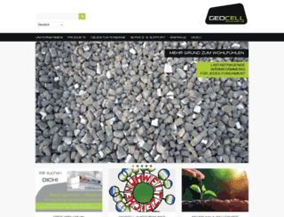 geocell-schaumglas.eu screenshot