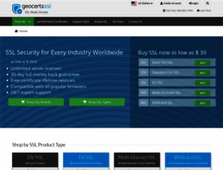 geocerts.com screenshot