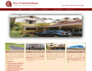 geoconstructions.com screenshot