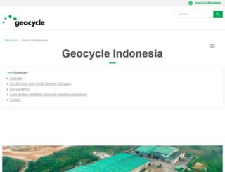 geocycle.co.id screenshot