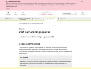 geodata.se screenshot